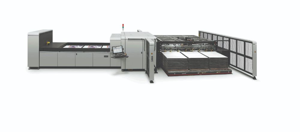 HP Scitex 15500 Corrugated Press