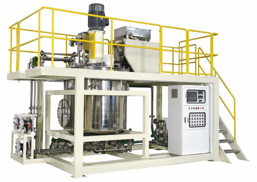 1 Ton Bulk Bag Starch Mixing System