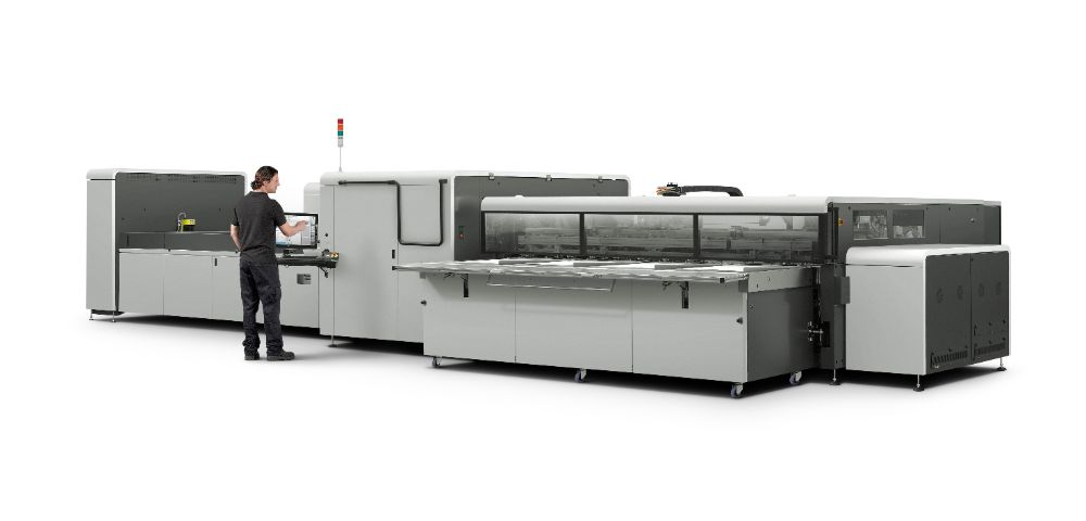 Previously Owned HP Scitex 11000 press