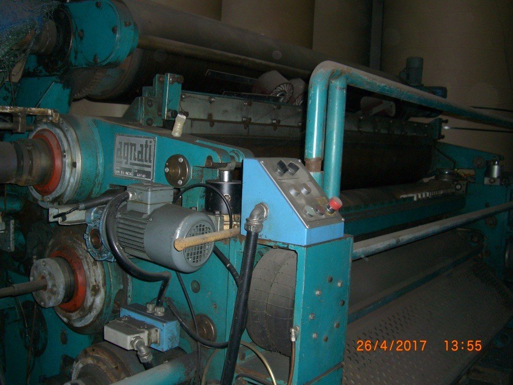 Agnati GO 14 – ACSC, 2500 mm E flute single facer. Ref 10050