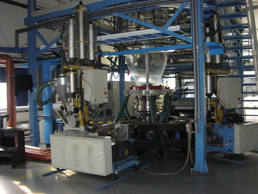 GHIOLDI BLOWN FILM EXTRUSION LINE – 56924