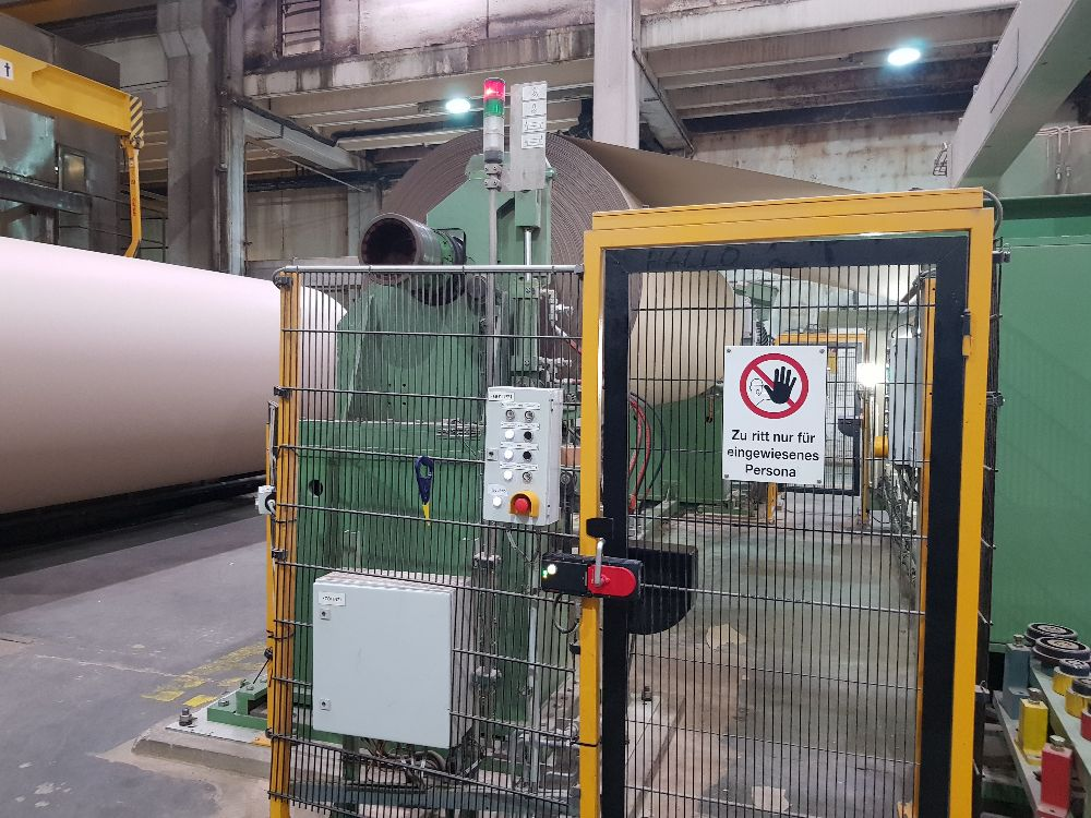 Voith Paper Machine  4360 mm Trim Width for production of Test liner, kraft and fluting 410 M.tons Still Runnig Available for sale