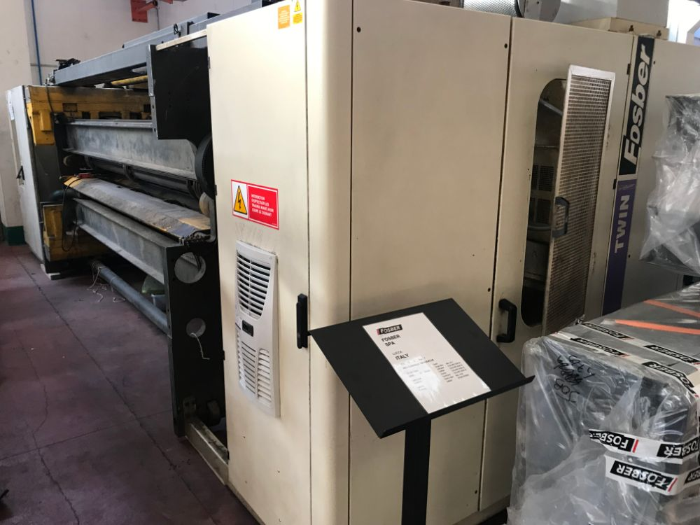 Fosber Twin Evolution Slitter-scorer