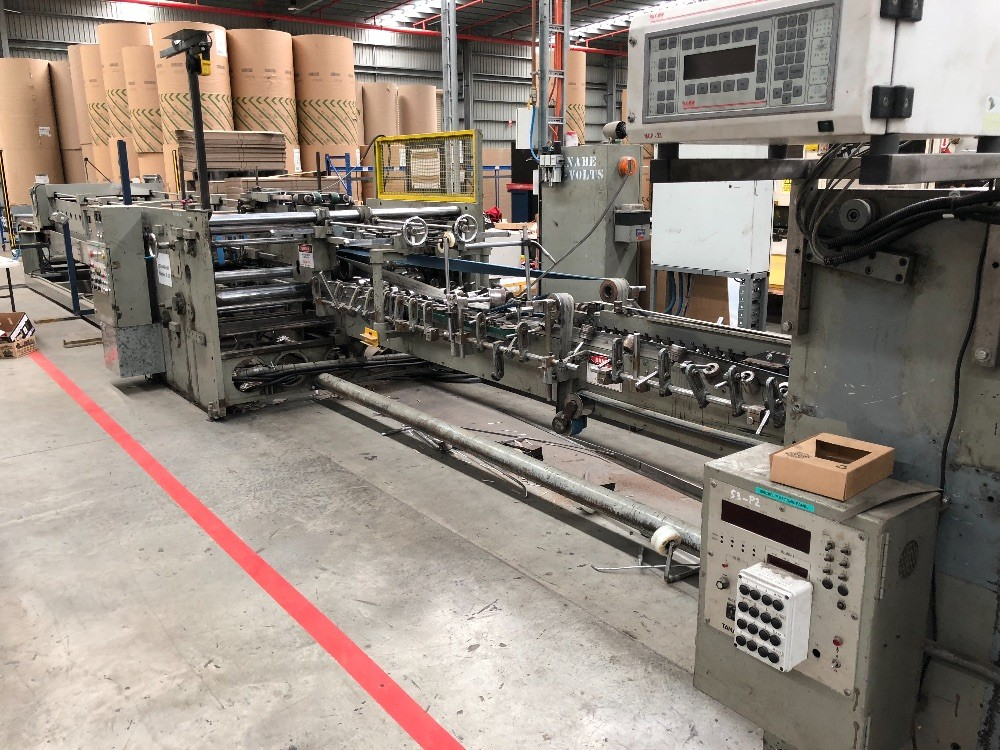 SALE BY PRIVATE TENDER: Tanabe 4 Point Folder Gluer