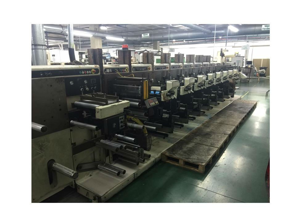 NILPETER FA3300 – 8 COLOUR LABEL PRESS – 56032
