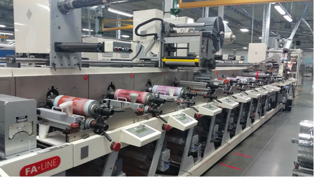 NILPETER FA4 SERVO LABEL PRESS – 11 COLOUR PRESS – 56163