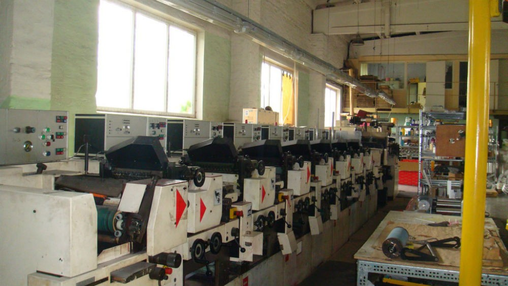NILPETER B280 – 10 STATION COMBINATION LABEL PRESS – 56137