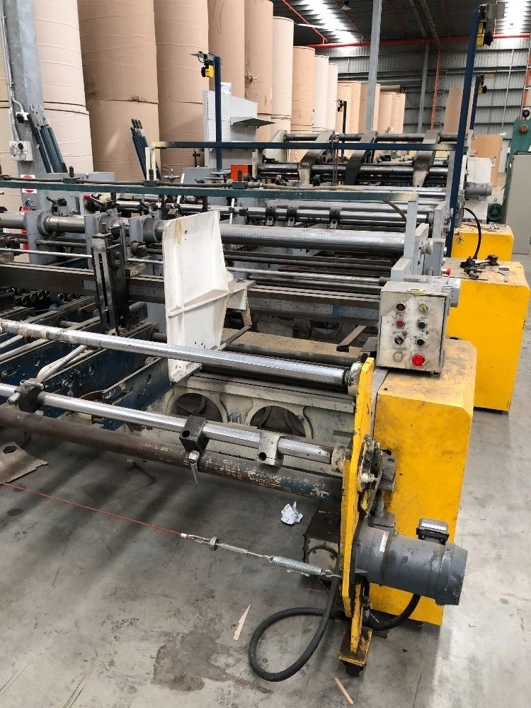 SALE BY PRIVATE TENDER: Tanabe 5 Point Folder Gluer