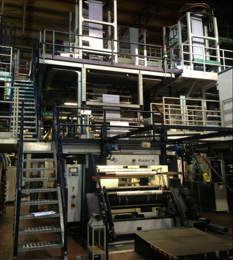 KIEFEL KIRION COEX BLOWN FILM EXTRUSION LINE – 56154