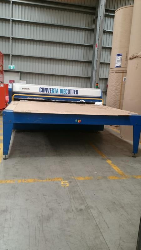 SALE BY PRIVATE TENDER: Coverta Die Cutter