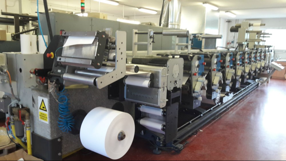GALLUS ECS340 – 8 COLOUR LABEL PRESS – 56160