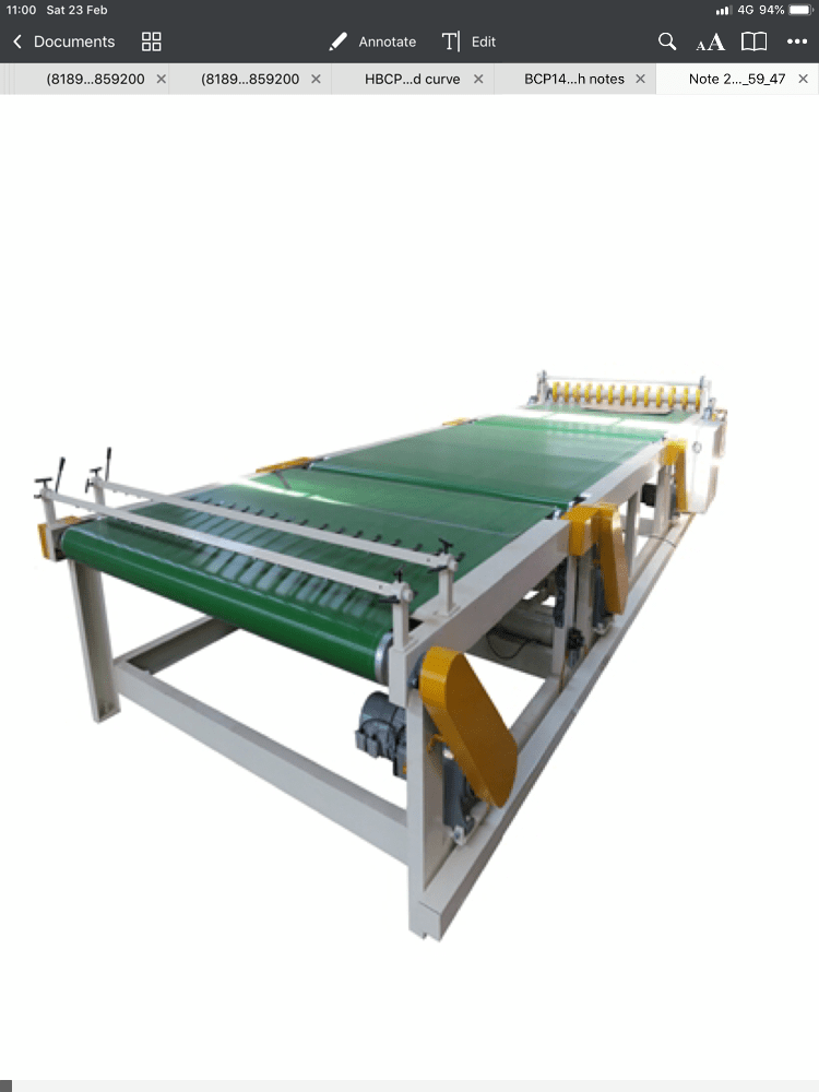 Take-Off Conveyors
