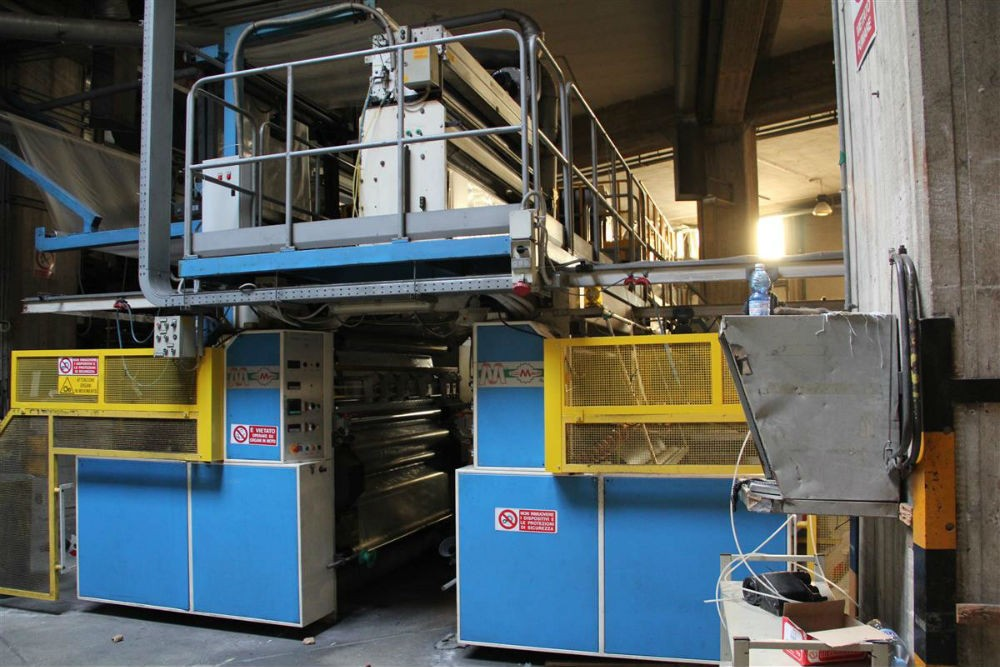 MACCHI BLOWN FILM EXTRUSION LINE – 56290