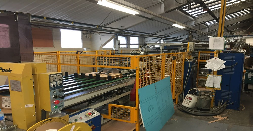 Simca Fully Automatic Stitcher Gluer