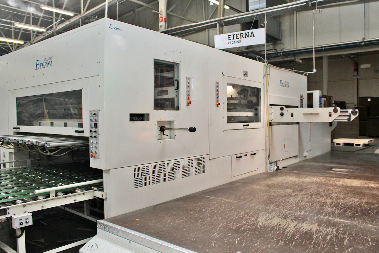ETERNA AUTOMATIC DIE-CUTTING MACHINE MODEL PE 2100 S