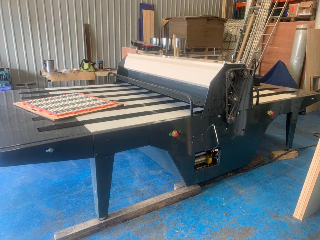 Baysek Die Cutter – Fully Refurbished – Max sheet 2500mm x 3500mm