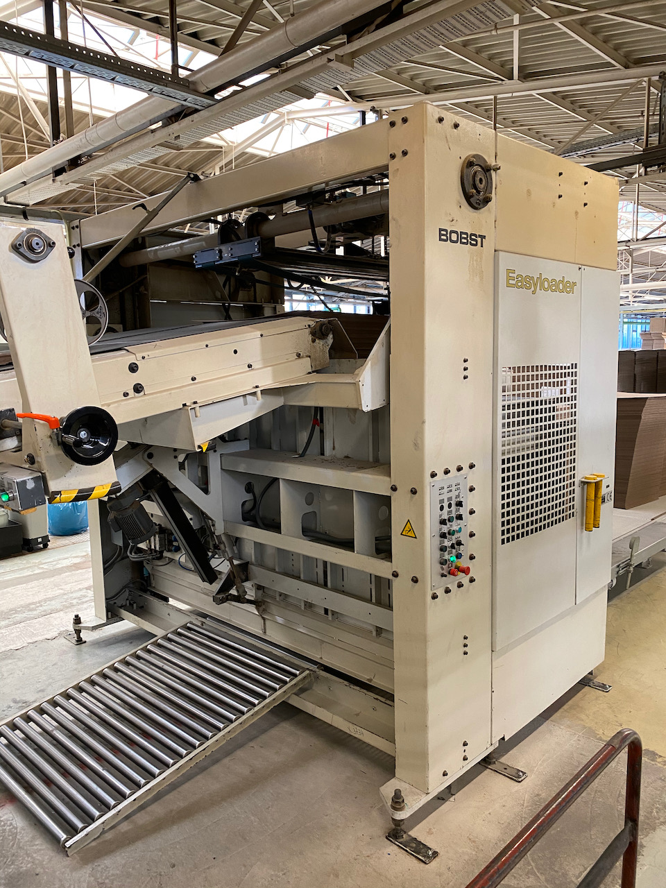 BOBST EASYLOADER C 160 S PREFEEDER FOR AUTOMATIC DIE-CUTTING