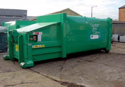 Pakawaste P2000 Portable Waste compactor