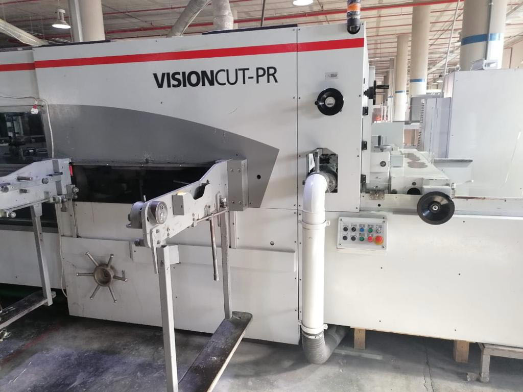 BOBST VISIONCUT 1.6 PR POWER REGISTER FLATBED DIE-CUTTER