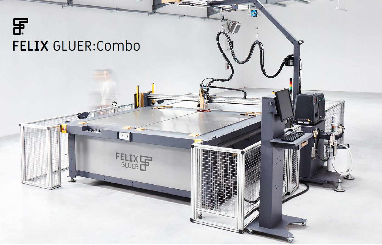 FELIX GLUER : Combo – Glue plotter –  XY gluing table
